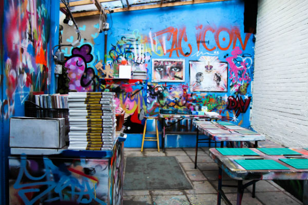 Graffik Street Art Workshop in London