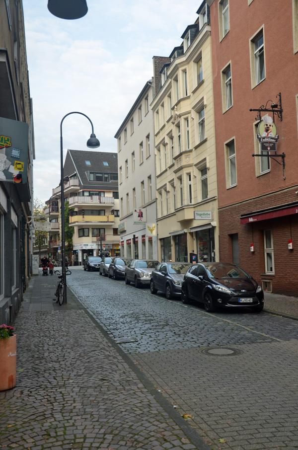 Das Hirschgässchen in der Kölner Südstadt
