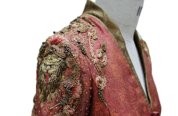 game of thrones embroiderer michele carragher talks dragons and dresses red