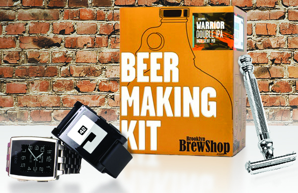 Get Him V-Day Gifts He Really Wants: Beer and Books