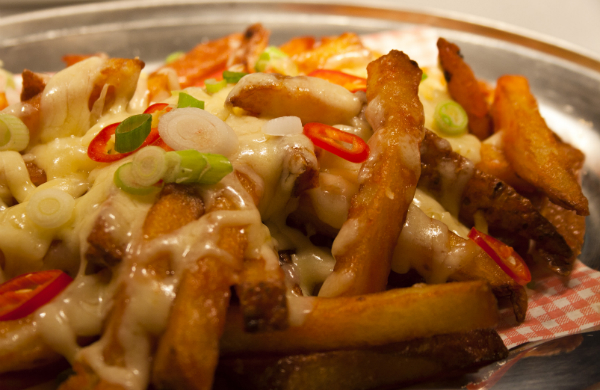 Thai Chilli Cheese Fries at Burger Meats Bun