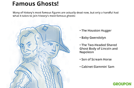 The Five Most Famous Ghosts