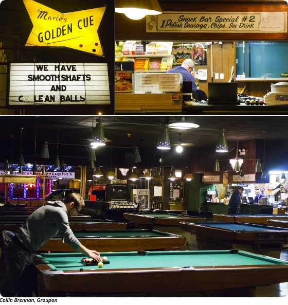 Game On: Billiards at Marie's Golden Cue in Irving Park