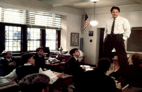 L attimo fuggente   Robin Williams