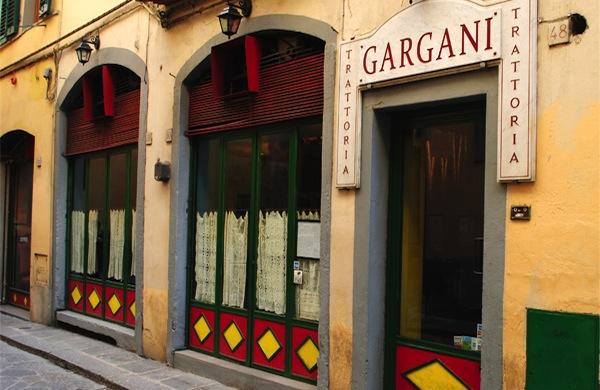 Mangiare toscano alla Trattoria Gargani di Firenze