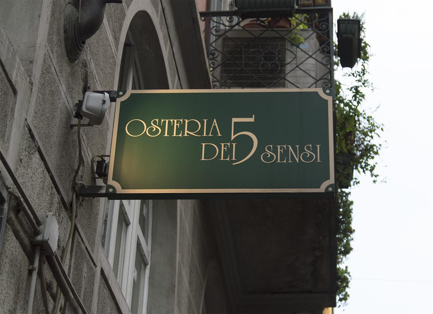 Osteria dei 5 sensi Milano