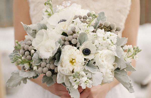 Come scegliere i fiori per un matrimonio in inverno