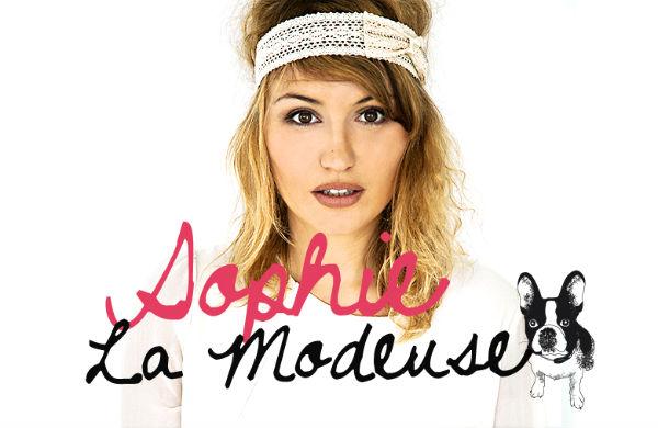 Rencontre avec... Sophie la Modeuse