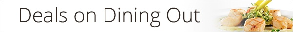 dining out banner