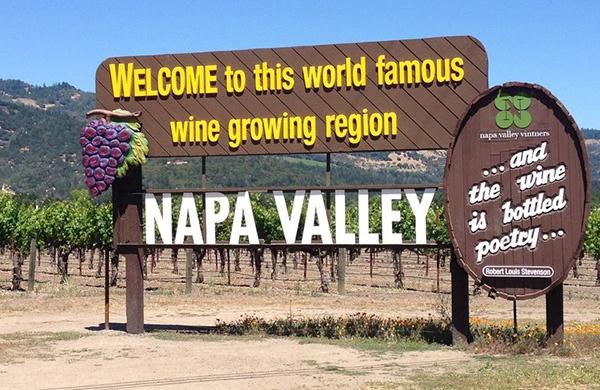 California Road Trip Napa Valley