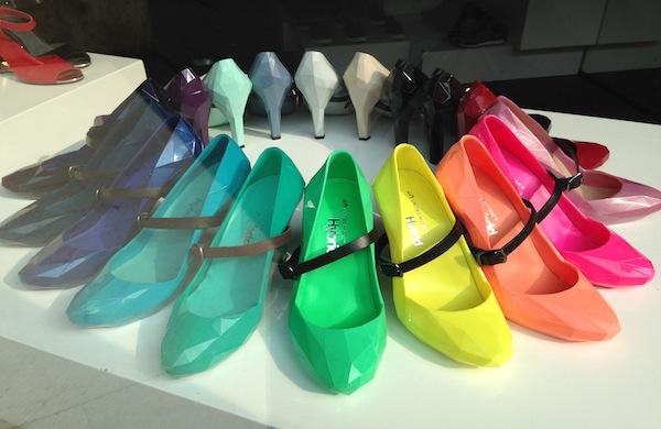 A rainbow of United Nude Lo Fi Shoes