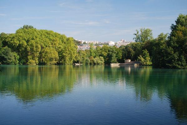 Lac Parc de la Tete d'or