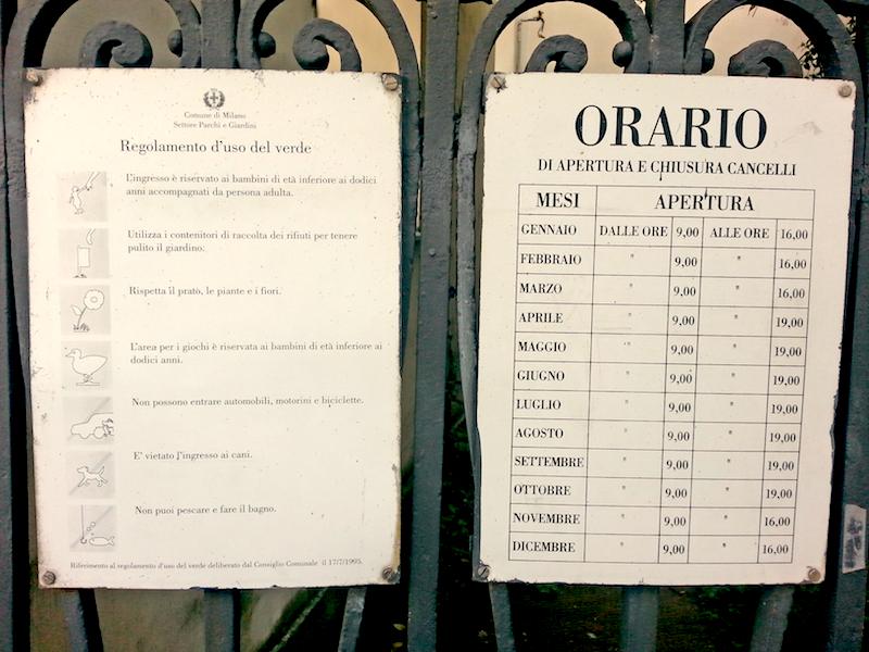 Apertura Villa Reale