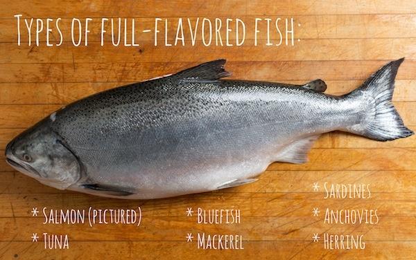 full flavored fish