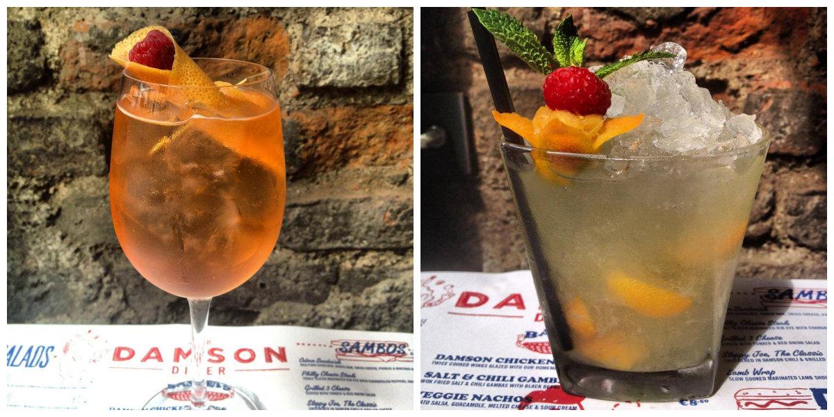 Damson Diner Cocktails
