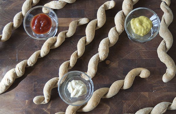 homemade pretzel curls an alternative use for skewers hero