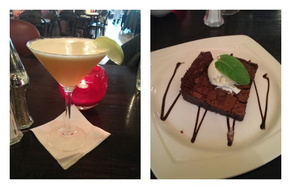 Cocktails and Brownies at Browns Glasgow