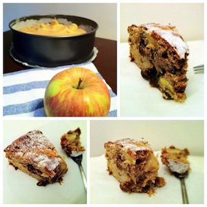 ricetta torta di mele nenalicious