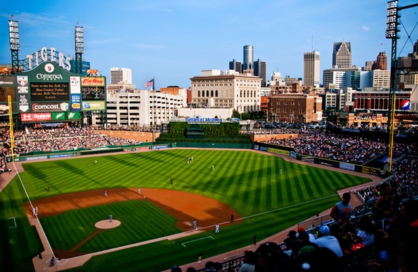 Five Ballpark Neighborhoods  and Why They re Worth Exploring  Comerica  Detroit