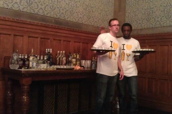 The Liquorists with Their Liquor
