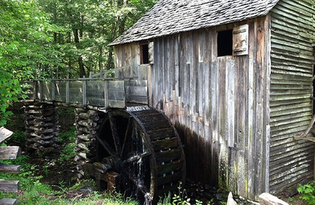 John Cable Grist Mill Great Smoky Mountains National Park