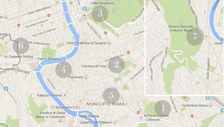 Roma in due giorni: cosa vedere in centro