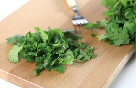 how to strip cilantro leaves really really fast a video guide
