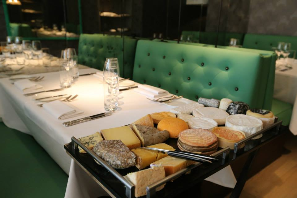 Cheeseboard at Medlar London