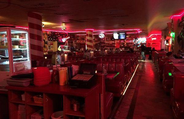 Amerikanische Stimmung im Sixties Diner in Berlin