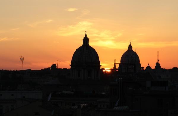tramonto roma