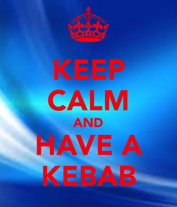 keep calm kebab