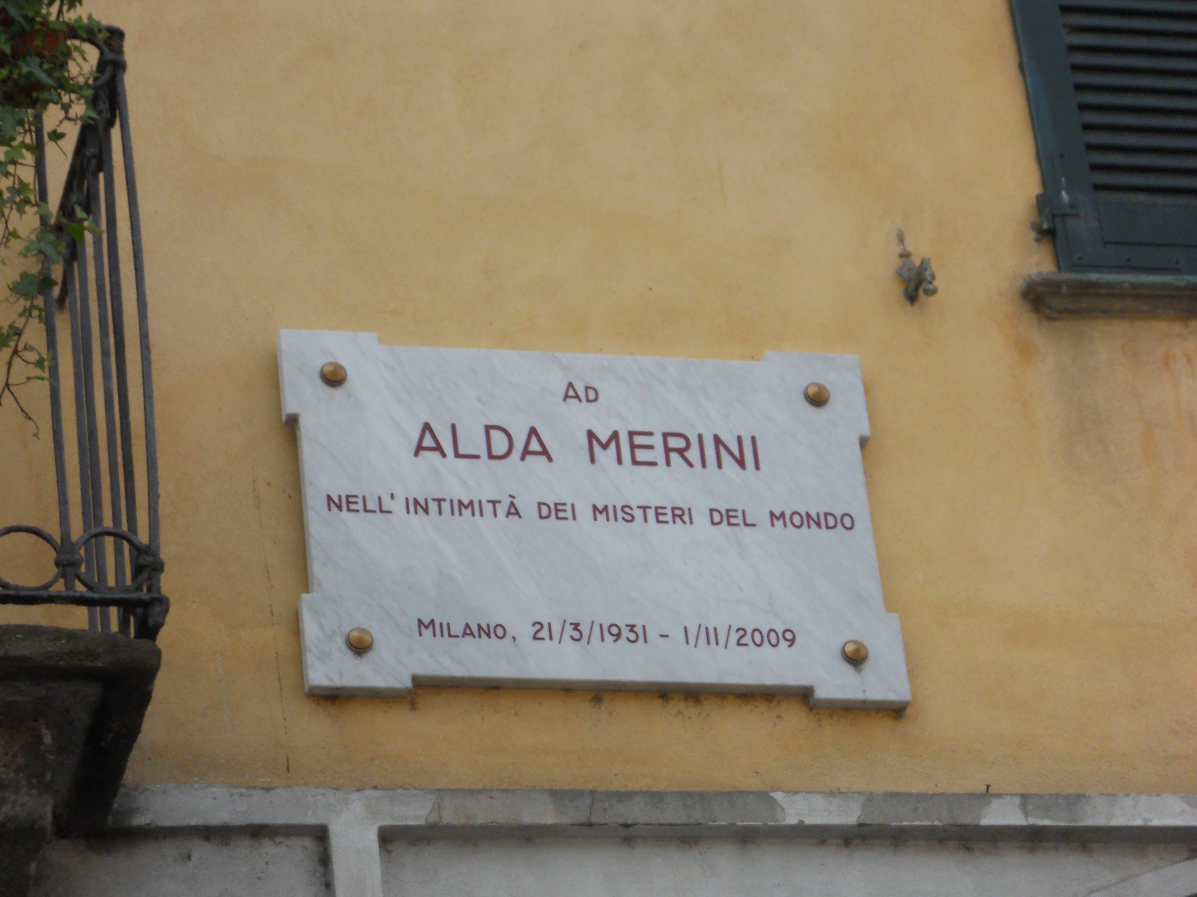 Alda Merini Milano