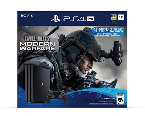 Best Gaming Deals, Playstation 4 Pro Call of Duty bundle