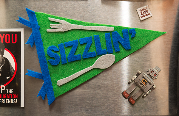 Forget Sports. These DIY Felt Pennants Salute What Really Matters.