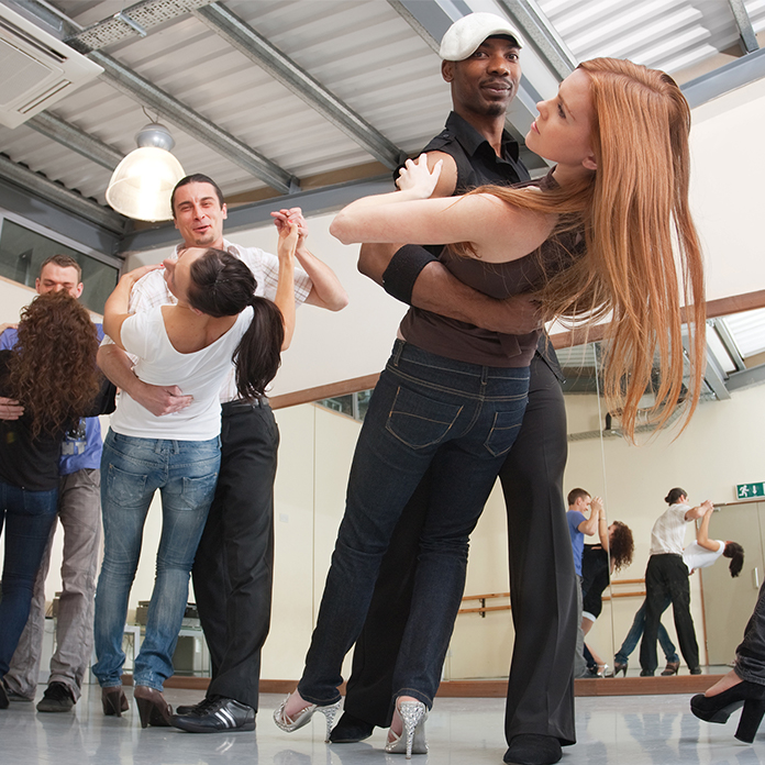 group dance class