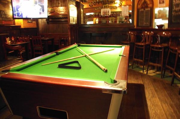 Top 3 des bars parisiens pour jouer au billard