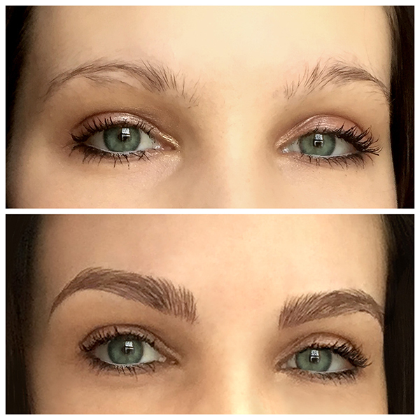 How Microblading Gave One Customer Great Brows