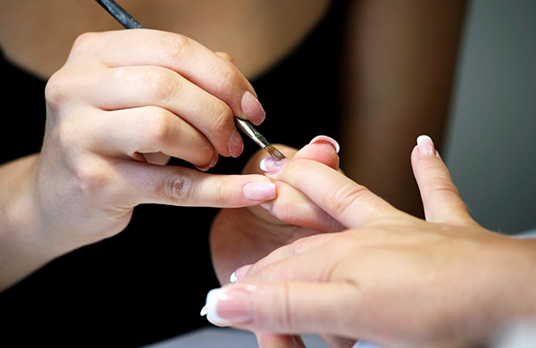 Acrylic nails can look however you want them to for Acrylic nails salon