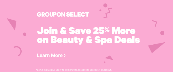 Join & Save 25% More on Beauty & Spa deals