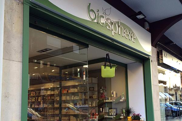 Biosphere, il bio-eco store di Bari