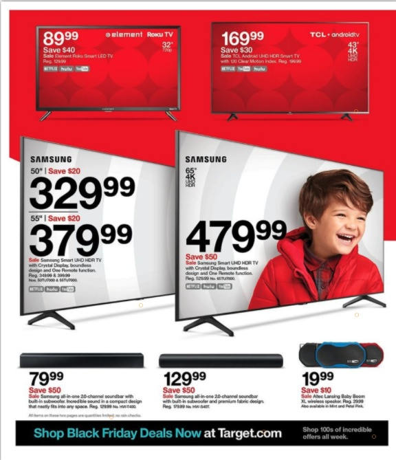 Target Black Friday 2020 Toy Ad