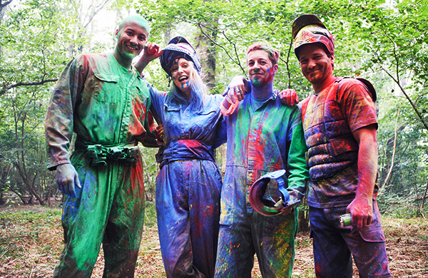Image result for People Play Paintball Games for Fun