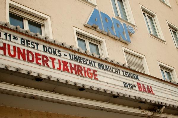Das Arri Kino in München ist beliebter Spielort für Filmfeste
