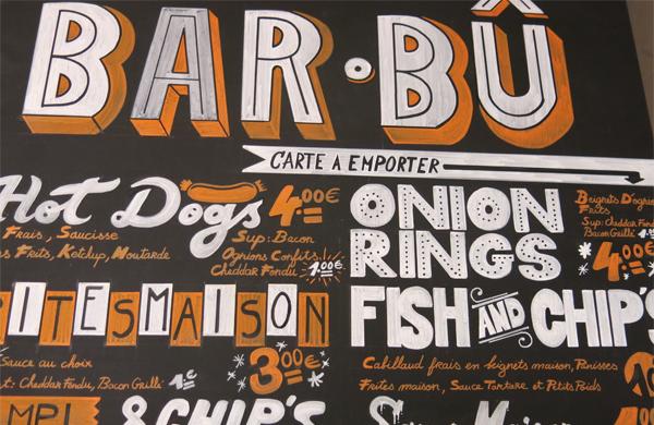 Le Bar BÛ, le roi des Burgers et des Fish & Chip's Marseillais
