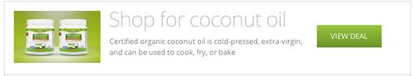 banner coconut oil