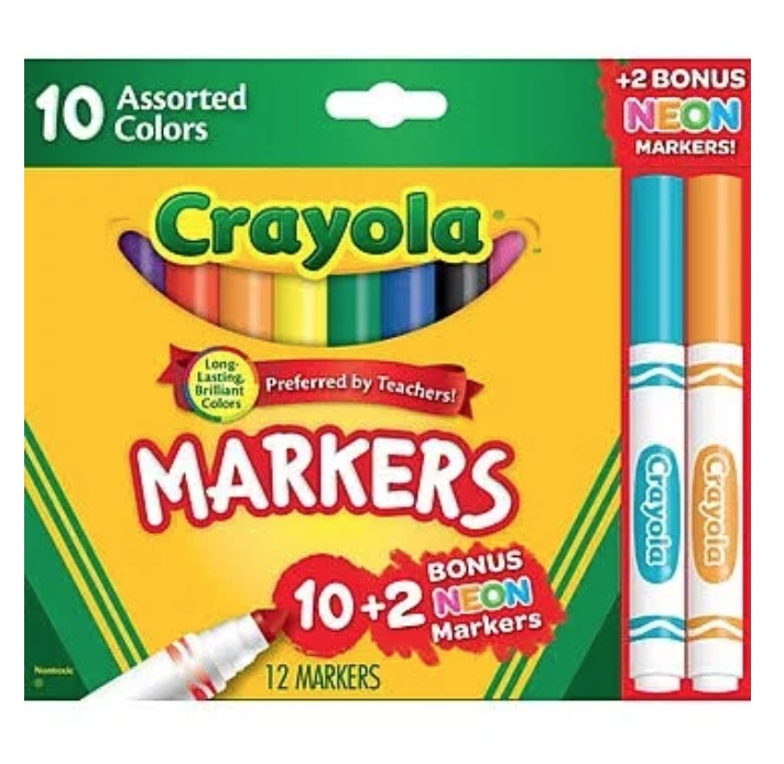 Back to School Supplies Markers Deals
