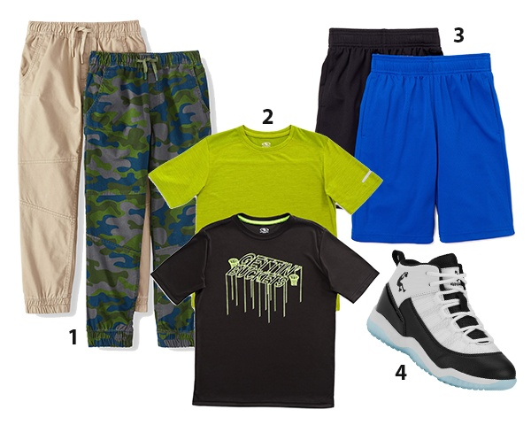 First Day of School Outfit Elementary Boys