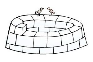 How to Build an Igloo  Step 6