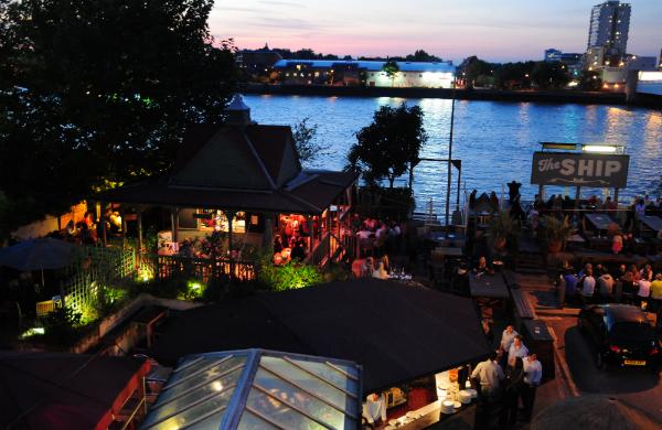 The SHip Beer Garden London