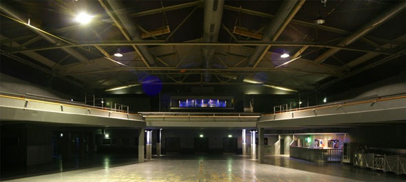Konzert-Location in Berlin Kreuzberg: Die Columbiahalle © C-Halle am Columbiadamm GmbH